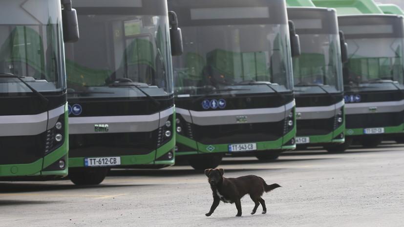 Общественный транспорт в Грузии возобновляет работу