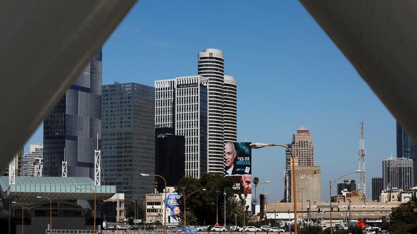 Сирены воздушной тревоги прозвучали в Тель-Авиве