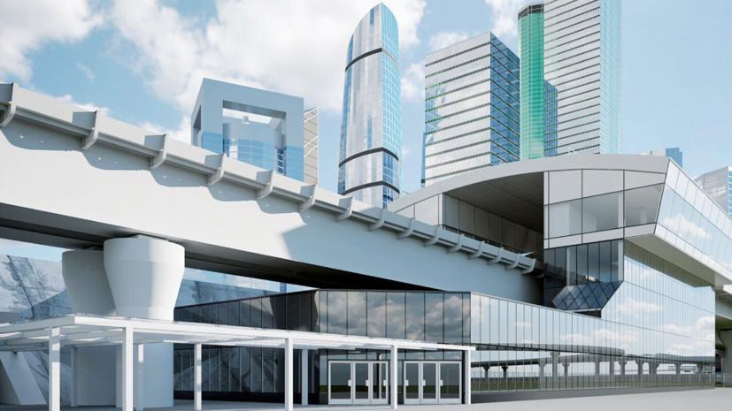 В Москве рассказали о ходе строительства эстакады в районе Москва-Сити