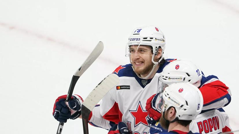 Источник: клубы НХЛ интересуются форвардом ЦСКА Окуловым
