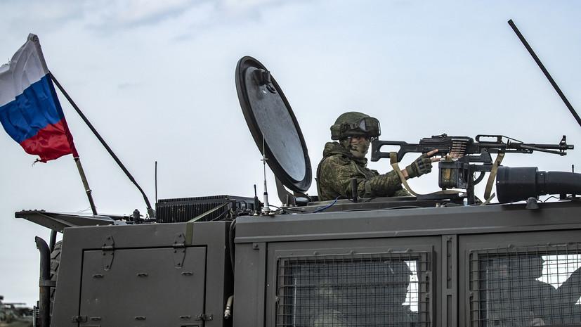 В ЦПВС заявили о несогласованном выдвижении военной техники США в САР