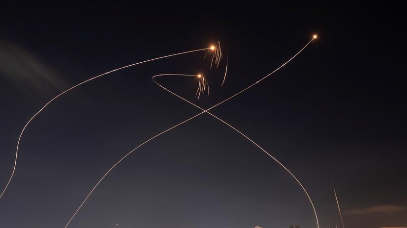 Израиль заявил о пуске ракет по своей территории со стороны Ливана