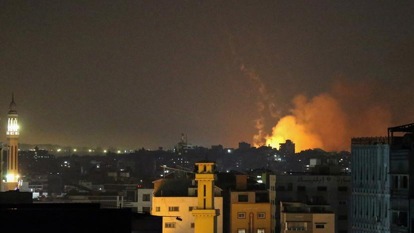 Армия Израиля начала воздушную и наземную атаку сектора Газа