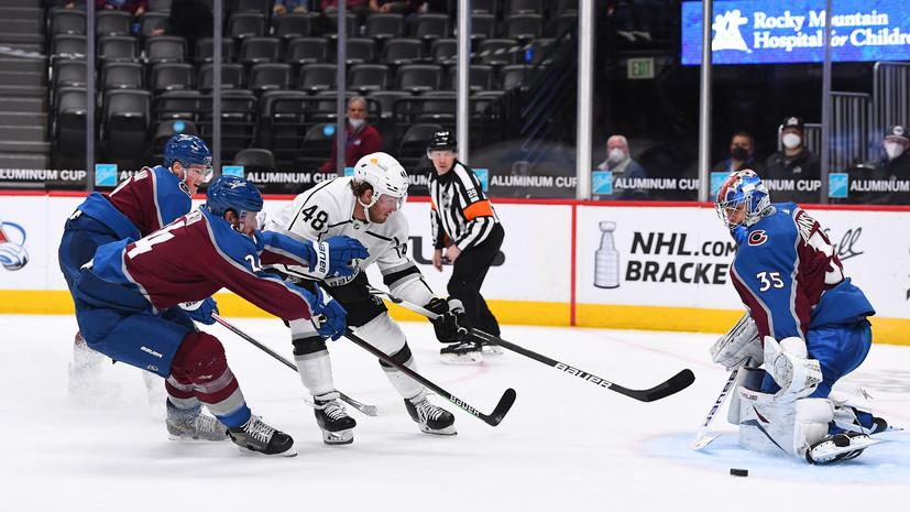 «Колорадо» стал победителем регулярного чемпионата НХЛ