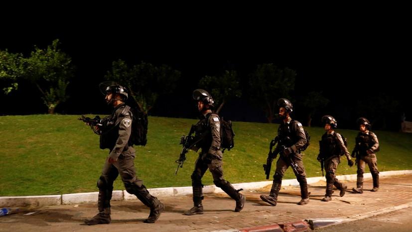 В армии Израиля заявили, что наземные войска не входили в сектор Газа
