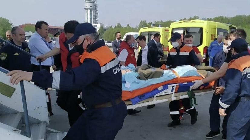 Врач рассказала о состоянии двух доставленных в Москву из Казани детей
