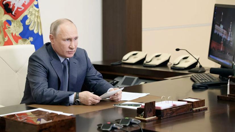 Путин заявил, что Украину превращают в «антипод» России