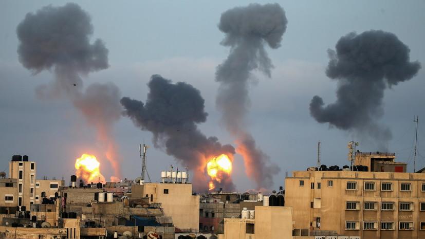 Израиль нанёс удар по филиалу банка ХАМАС в секторе Газа