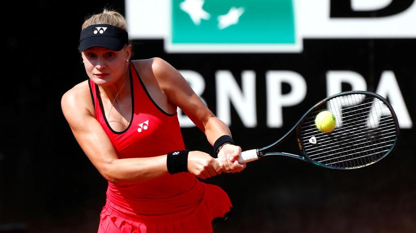 Украинская теннисистка заявила, что допинг попал в её организм из-за секса