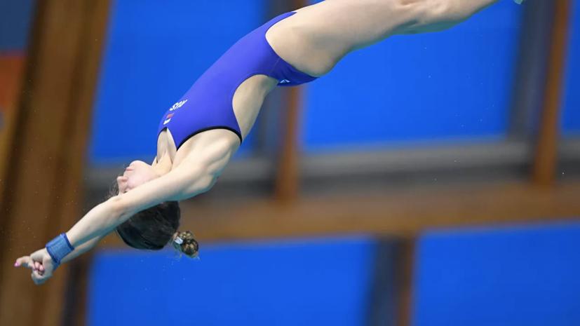 Беляева и Тимошинина завоевали золото ЧЕ по прыжкам в воду
