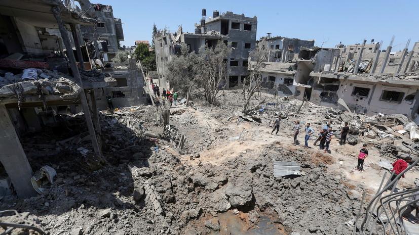 Минздрав Палестины сообщил о 126 погибших в секторе Газа