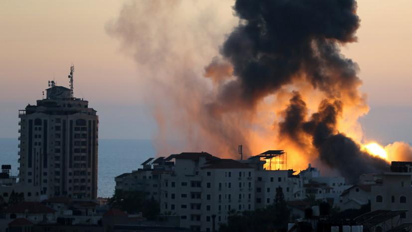 В Израиле заявили о ликвидации офиса главы службы безопасности ХАМАС
