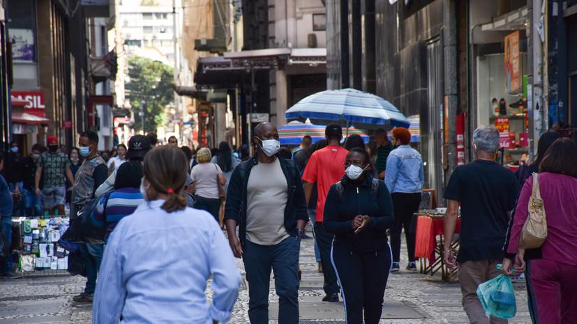 В Бразилии выявили более 85 тысяч случаев коронавируса за сутки