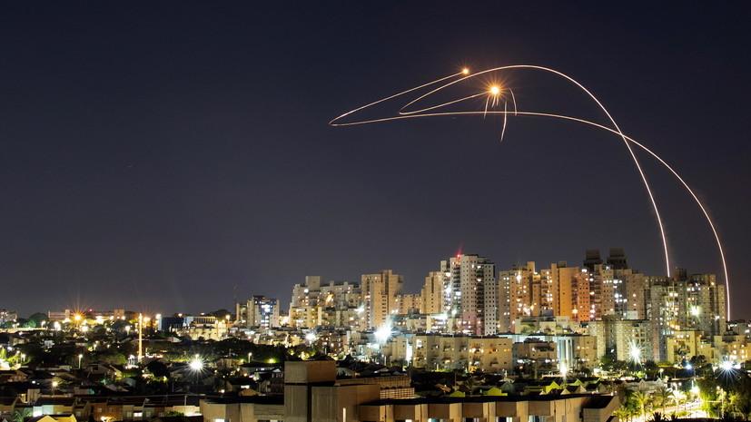 Израиль заявил о запуске из сектора Газа более 200 ракет за ночь