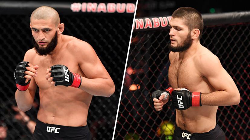 «Будь аккуратен с высказываниями»: чем закончился конфликт между бойцом UFC Чимаевым и семьёй Нурмагомедова