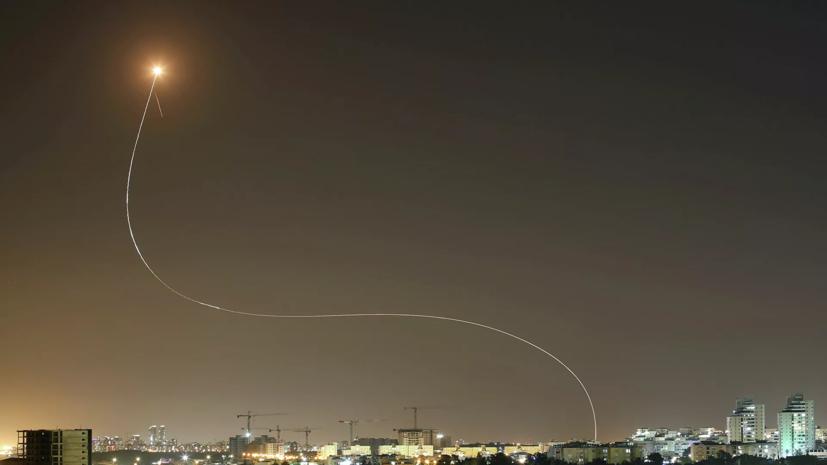 В ХАМАС заявили о запуске нескольких десятков ракет в сторону Тель-Авива