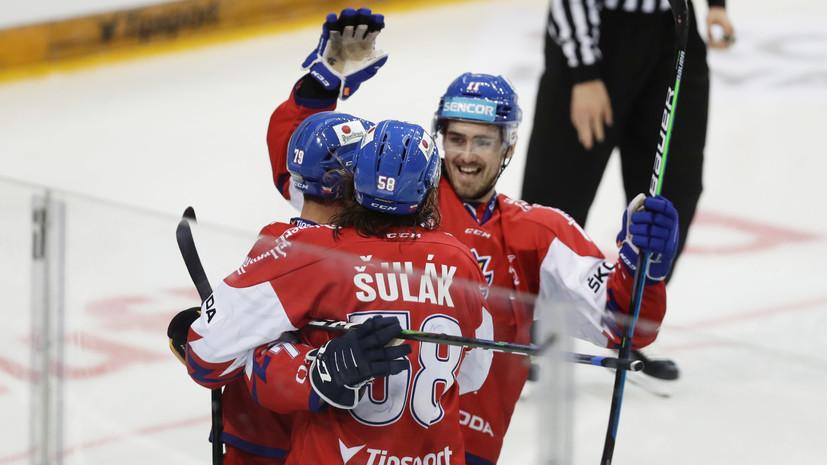 Сборная России заняла последнее место на Чешских хоккейных играх