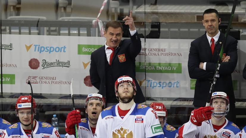 Брагин: в матче с Чехией подвела реализация