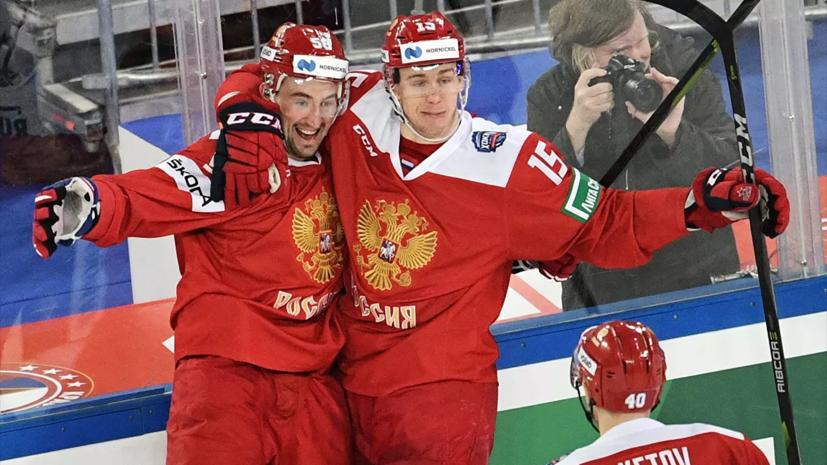 Слепышев станет капитаном сборной России по хоккею на ЧМ в Латвии
