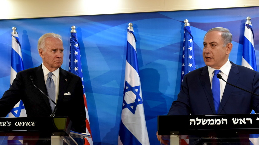 В Белом доме рассказали о переговорах Байдена с Нетаньяху