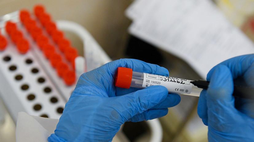 В России за сутки выявили 8554 случая коронавируса