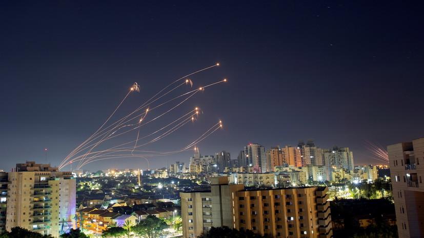 В израильской армии рассказали о выпущенных из сектора Газа ракетах