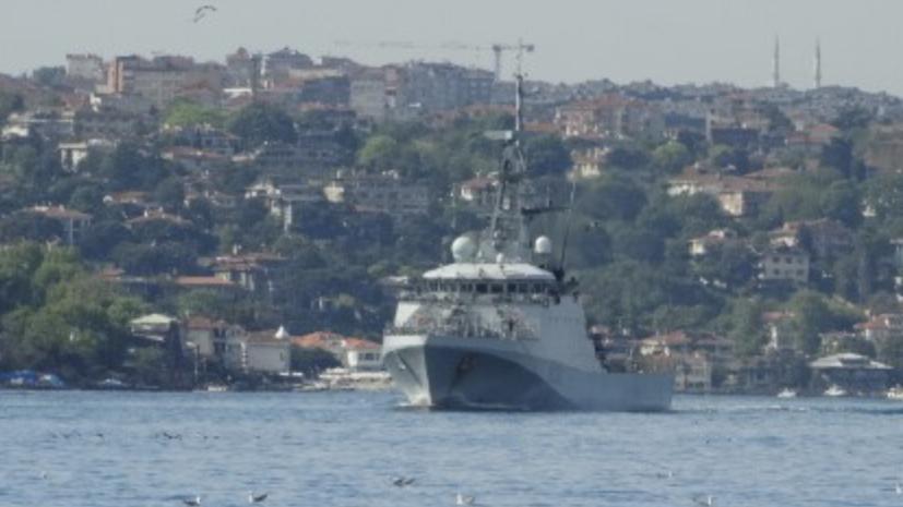 Британский патрульный корабль Trent направляется в Одессу