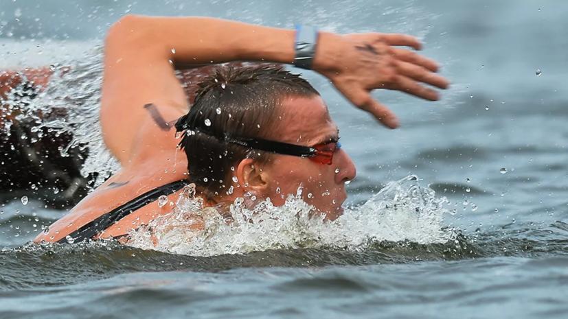 Абросимов завоевал бронзу в плавании на открытой воде на 25 км на ЧЕ