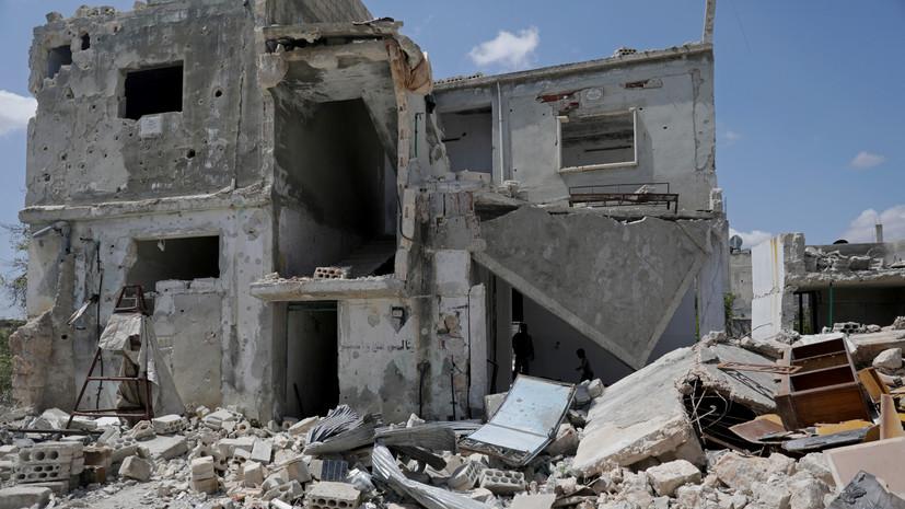 В ЦПВС сообщили об обстреле правительственных сил САР