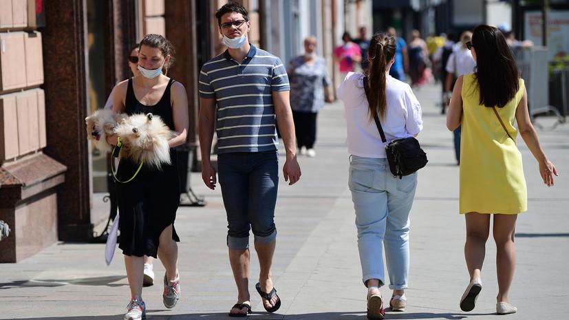 «Оранжевый» уровень опасности объявлен в Москве из-за жары
