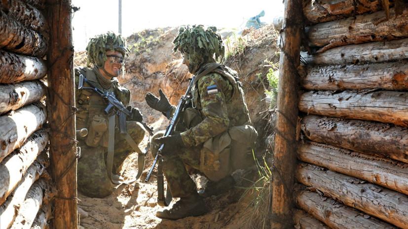 В Эстонии стартуют военные учения НАТО «Весенний шторм»