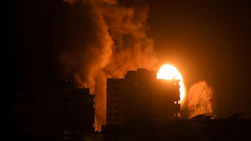 В Израиле сообщили о новых ударах по военным объектам ХАМАС в Газе