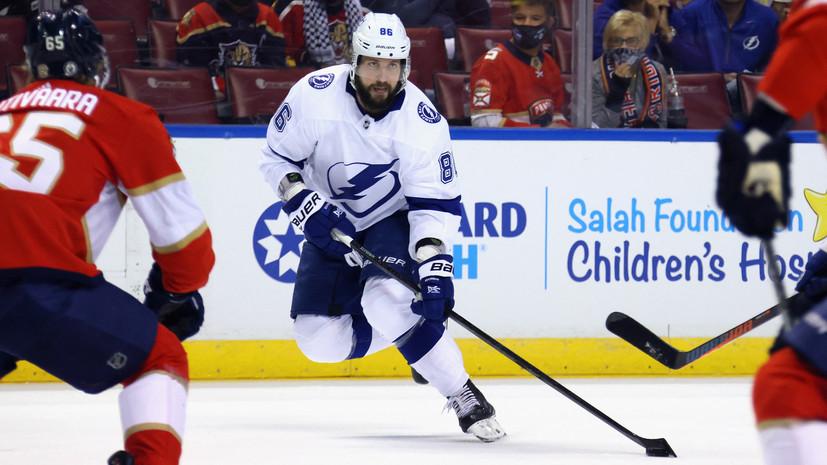 «Король вернулся»: дубль и передача Кучерова помогли «Тампе» одержать победу в первом матче плей-офф НХЛ