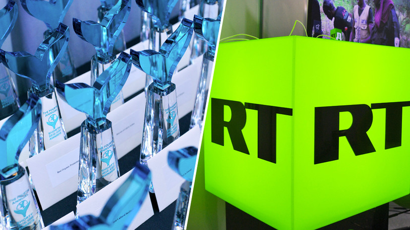 RT завоевал высшие награды в восьми категориях премии Shorty Awards