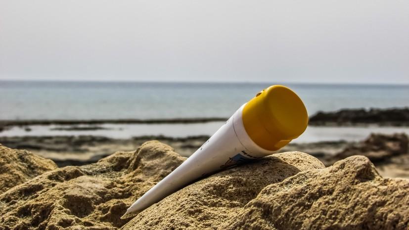Врач рекомендовала использовать защитный крем в летний период