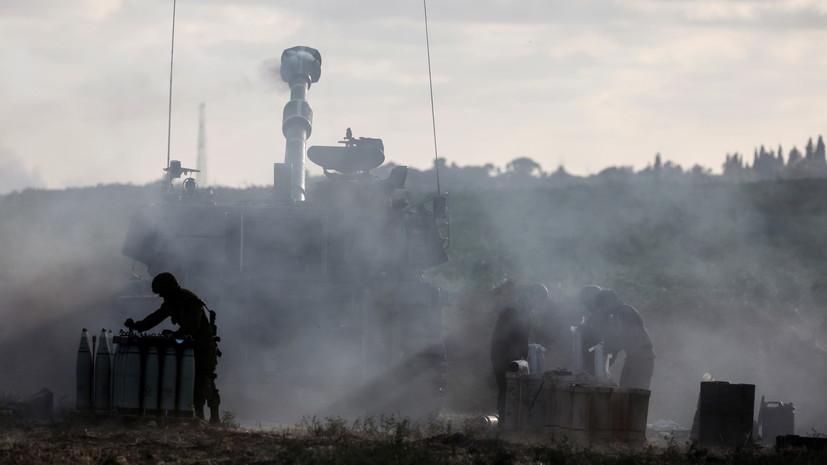 Израиль ударил по штабу службы внутренней безопасности ХАМАС