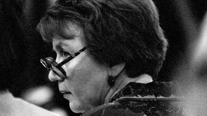 В Москве скончалась вдова разведчика Филби