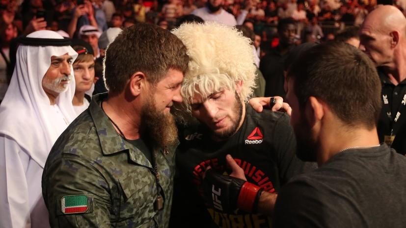 Кадыров объяснил, почему назвал Нурмагомедова «проектом UFC»