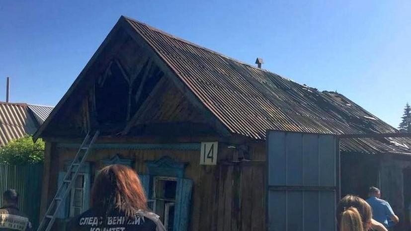 В Оренбургской области выясняют обстоятельства гибели женщины с двумя детьми при пожаре