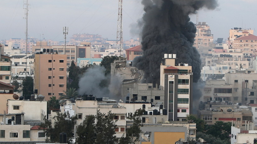 «С тревогой следим за развитием ситуации»: Путин призвал Израиль и Палестину к прекращению насилия