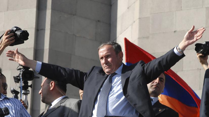 Первый президент Армении будет участвовать в выборах в парламент