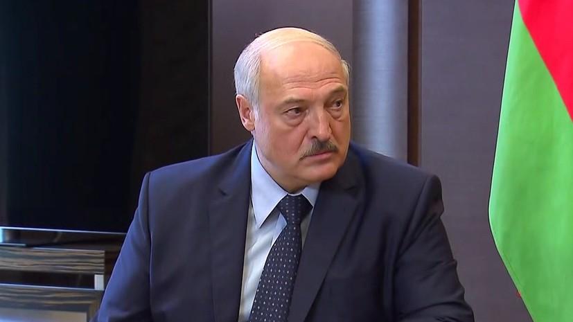 Лукашенко доложили о крушении самолёта Як-130