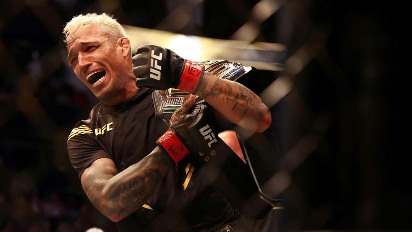 Чемпион UFC сравнил Нурмагомедова с нынешним обладателем пояса в лёгком весе