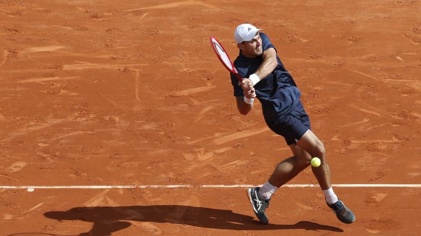 Карацев проиграл Синнеру в матче первого круга турнира ATP в Лионе