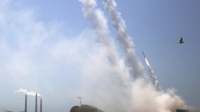 Израиль заявил о запуске 4 тысяч ракет из сектора Газа с начала эскалации