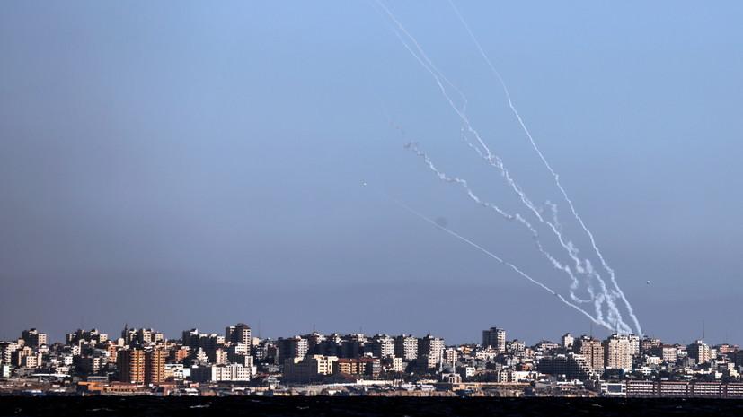 В ХАМАС сообщили о нанесении ракетных ударов по израильской авиабазе Хацерим