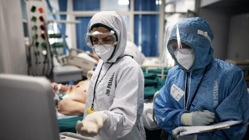 В России выявили 9232 новых случая коронавируса за сутки