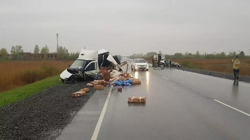 Суд арестовал водителя после ДТП с пятью погибшими в Красноярском крае