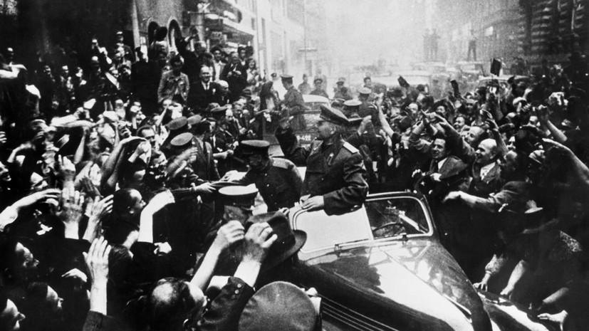 «О боях и исторической правде»: Минобороны обнародовало рассекреченные документы об освобождении Чехословакии