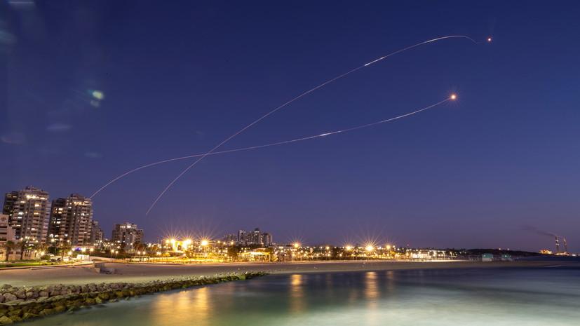 В Израиле назвали число запущенных из сектора Газа ракет